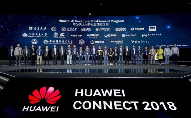 هواوي كونكت 2018: إطلاق برنامج تمكين مطوري الذكاء الاصطناعي
