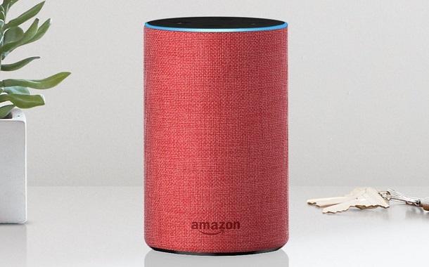 أمازون تطلق نسخة باللون الأحمر للجيل الثاني من أمازون ايكو