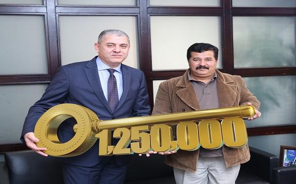 بنك الإسكان يعلن اسم الرابح بالجائزة الأكبر في السوق المصرفي الأردني