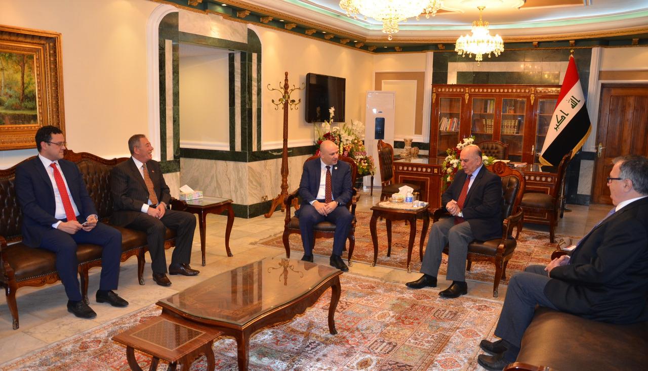 الغرايبة يدعو الجانب العراقي للاستفادة من الخبرات الأردنية في الحلول الرقمية