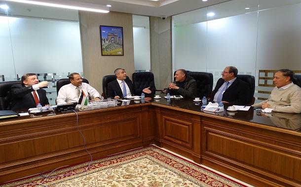 تفعيل مجلس الشراكة بين هيئة تنظيم قطاع الاتصالات  والجمعية الاردنية للحاسبات