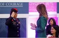العقيد خالدة الطوال تتسلم جائزة وزير الخارجية الامريكي الدولية للمرأة الشجاعة