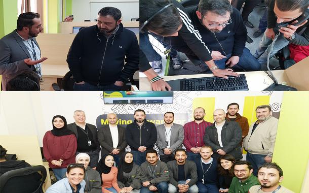 أمنية تفتتح مركز اتصال لخدمات الزبائن في محافظة الزرقاء