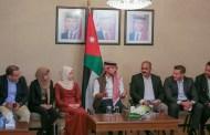 ولي العهد يحاور عدداً من الشباب والشابات القياديين في محافظة إربد