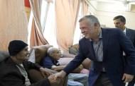الملك يفاجئ المسنين في دار الضيافة بجمعية الأسرّة البيضاء بالجويدة للاطمئنان على أحوالهم