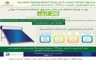وزارة الطاقة: صندوق الطاقة المتجددة يزود 26 الف منزل بسخانات شمسية مدعومة