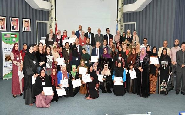 50 سيدة تستفيد من مشروع تمكين المرأة البدوية في الكرك والموقر