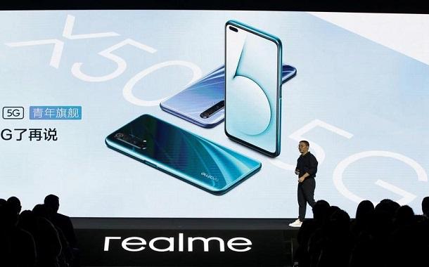 «ريلمي» الصينية تهدف لمضاعفة شحنات الهواتف الذكية في 2020
