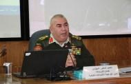 مدير عام هيئة الاتصالات يحاضر في كلية الدفاع الوطني الملكية