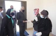 بتوجيهات ملكية..... العيسوي يسلم 34 مسكناً للأسر العفيفة بالرويشد
