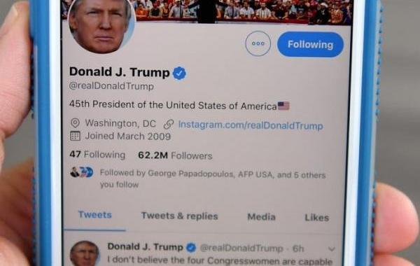 تويتر يمنع التعليق على تغريدة جديدة لترامب