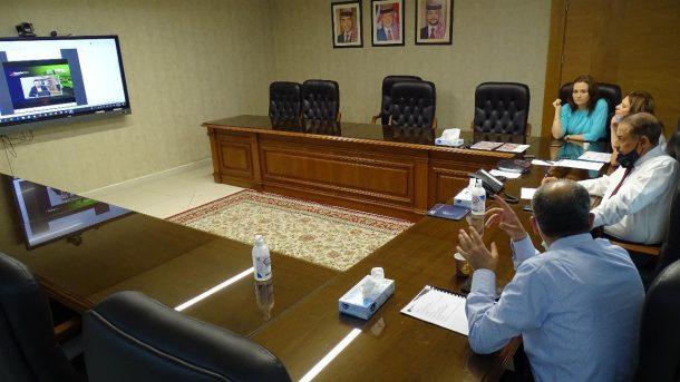 هيئة الاتصالات تشارك  عن بُعد  في المؤتمر السنوي للرابطة الدولية لمشغلي الهواتف المتنقلة