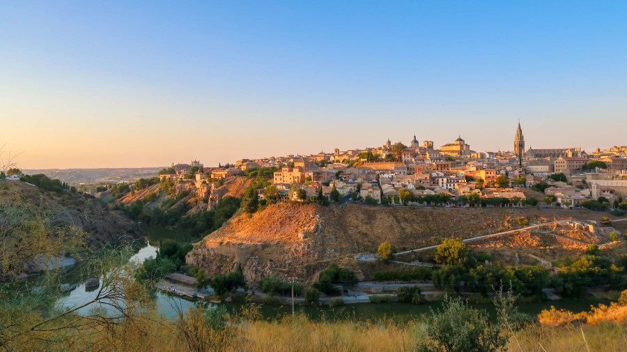 View of Toledo, a small city just outside of Madrid, Spain. It is an old Spanish Village. Picture owned by Hashtag Explorers