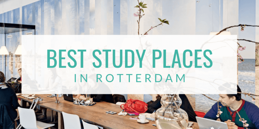 Find the top 3 best study places in Rotterdam around Rotterdam Centraal Rotterdam Central Station