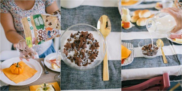 Ontbijten met Kellogg's