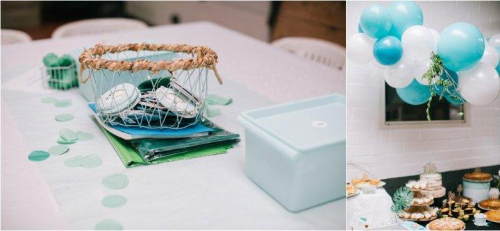 Babyborrel feest inspiratie DIY