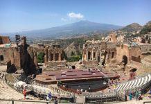 teatro greco, Taormina