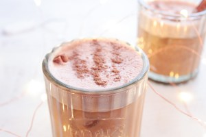 Bourbon Cacao Vegan Milk Punch
