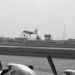 全日空のダグラスDCー3 全日空が貨物用に使用している頃。1960年(昭和35年)頃。