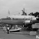 日本航空ダグラスDC-4(宝塚の公園) 1970年 (今)