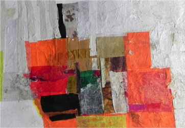 50x50cm, collage and acrylic on paper, 2012