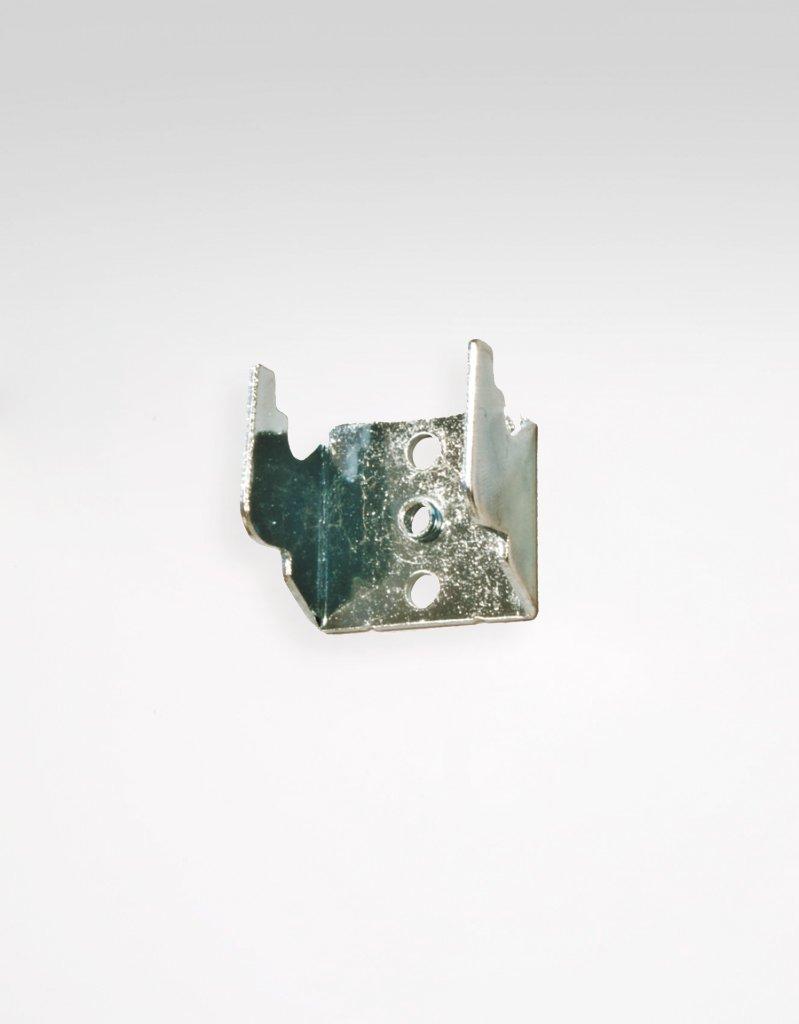 wall bracket adjustable curtain rod metal incl screw