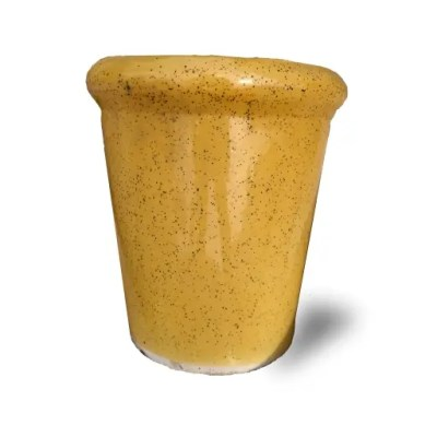 Flower Pot Yellow