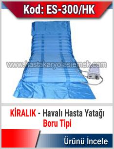 Kiralık boru tipi havalı yatak