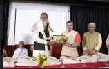 Prahlada Patel, Minister of State for Culture and Tourism, Government of India inaugurated the International Seminar on 'Peace and Justice' in Hindi University