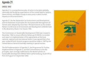 How Is Agenda 21 Being Implemented Worldwide?