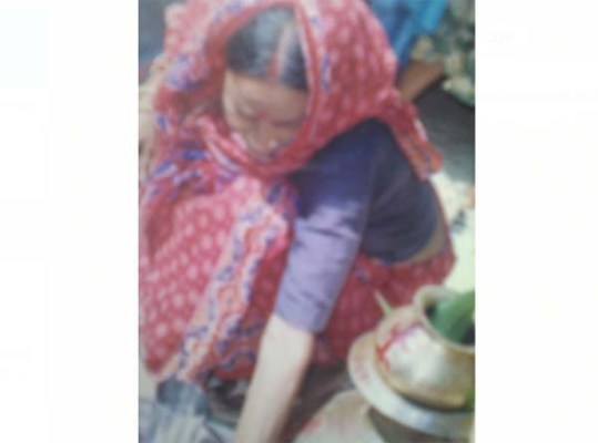 Mother of Palash Biswas