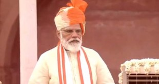 Narendra Modi Addressing the nation from the Red Fort