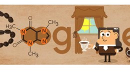 Google doodle February 8. Google Doodle raises a cup to German chemist Runge