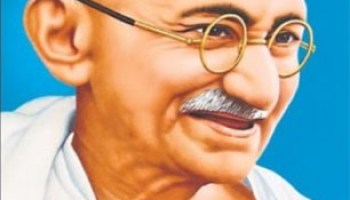 BYE-BYE FATHER OF THE NATION GANDHI: NATION HAS NEW FATHER