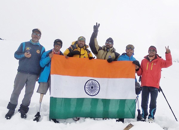 Aditya Mehta Foundation & BSF Institute of Advanced Adventure Training (BIAAT) teams scaled Bhageerathi II (21365 ft), as they set themselves to a create world record!