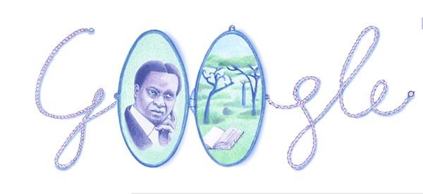 René Maran Today's Google Doodle