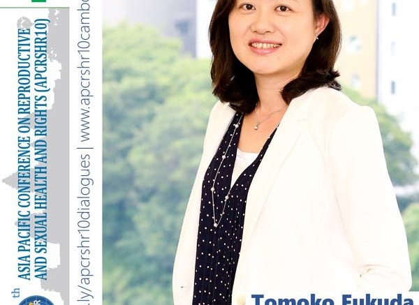 Tomoko Fukuda, Regional Director of the International Planned Parenthood Federation (IPPF)