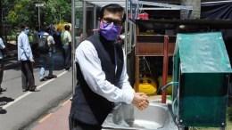 CSIR-CMERI Develops Touch-free Soap-cum-Water Dispenser