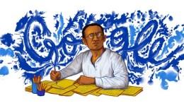 Google doodle on Saadat Hasan Manto