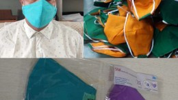 Dr Marshal and anti-microbial multilayer face masks. Researchers develop anti-microbial multi-layer face mask