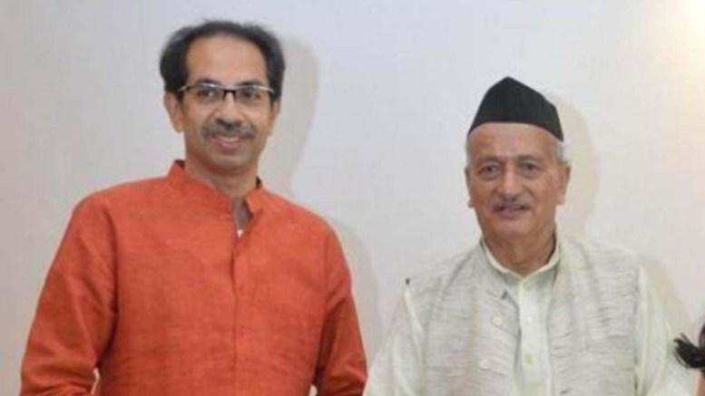 bhagat singh koshyari with Udhav Thackrey