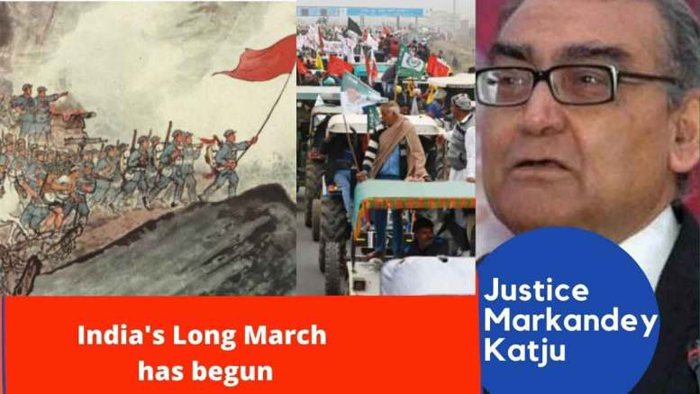 India's Long March has begun