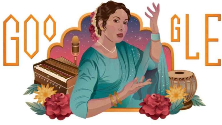 Iqbal Bano Google Doodle