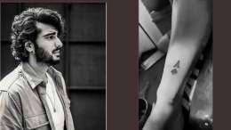 Arjun Kapoor Tattoo