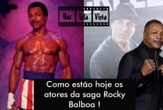 Antes e Depois dos Atores da saga Rocky Balboa (Vídeo)