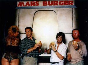 Arnold Schwarzenegger, making of O Vingador do Futuro (rare image Total Recall)