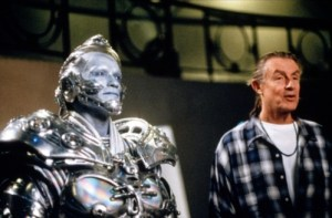 Arnold Schwarzenegger (Mr Freeze), making of