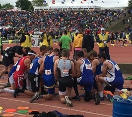 Giving AG2G at State Track