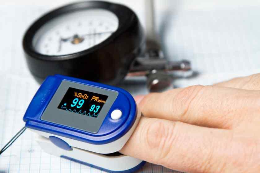 Ang rate ng saturation oxygen sa dugo sa isang may sapat na gulang