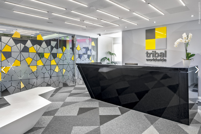 COMMERCIAL INTERIOR DESIGN FOR PROJECT TYPES Tribal DDB by Identity Design Commercial Interior Design Hatch Interior  Design Blog